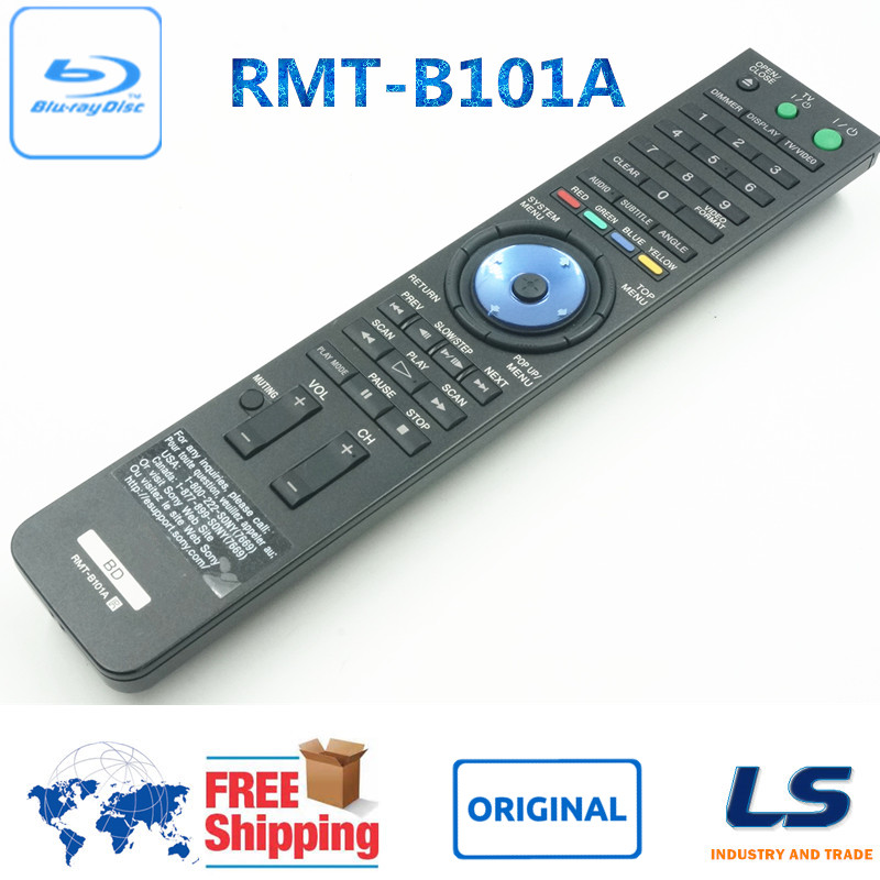Original bd fernbedienung rmt-b101a rmtb101a fit für sony bdp-s2000es bdp-s500 bdp-s301 bdp-s300...