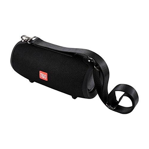 TG125 Étanche Sans Fil Bluetooth 4.2 Haut-Parleur Super Basse Subwoofer Extérieur Caisse de Résonance FM Portable Haut-Parleur Stéréo + 16g TF carte