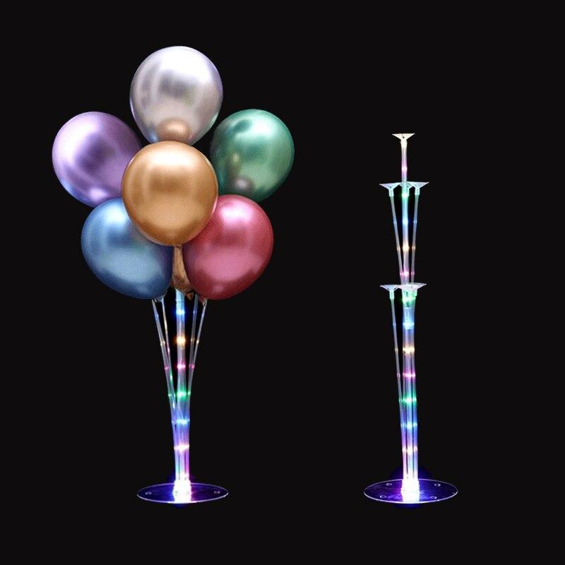42 cm Stick Balloon Holder Party Decor 100 Random Colour Balloon Plastic Column