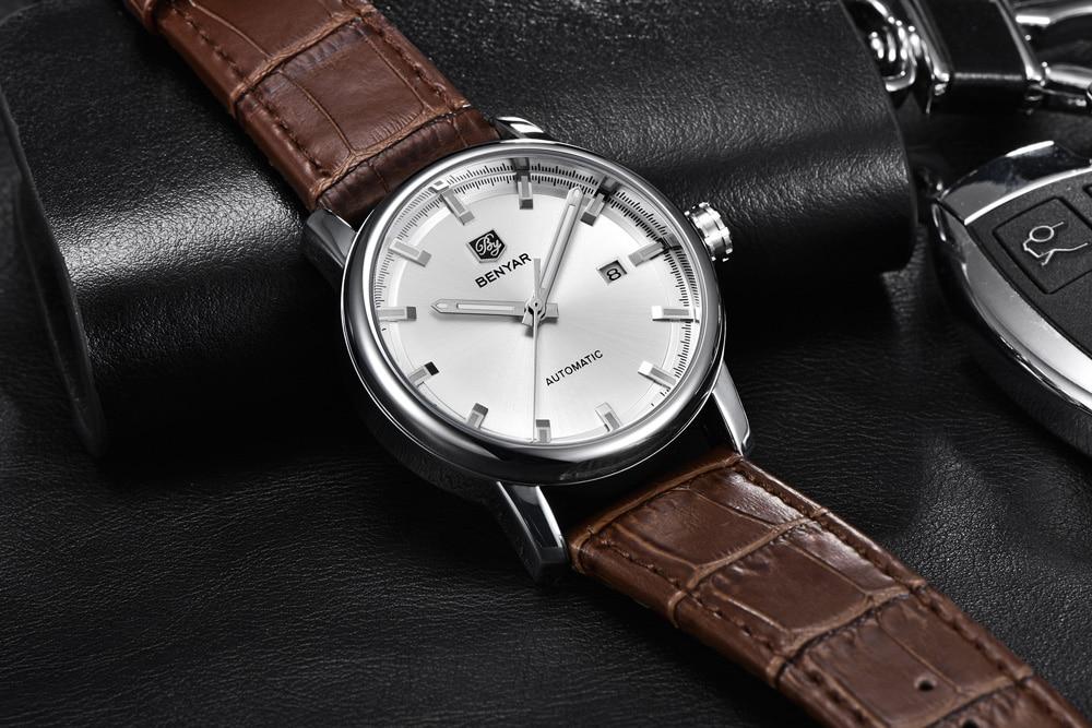 HTB1UOWea8WD3KVjSZKPq6yp7FXaL New BENYAR Men's Mechanical Watches Automatic Mens watches Top Brand Luxury watch men WristWatch Military Relogio Masculino 2019