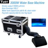 3000W Water Base Fog Machine Dry Ice Effect Haze Machine Wedding Stage DJ Disco Equipment Party Stage Effect Light Machine