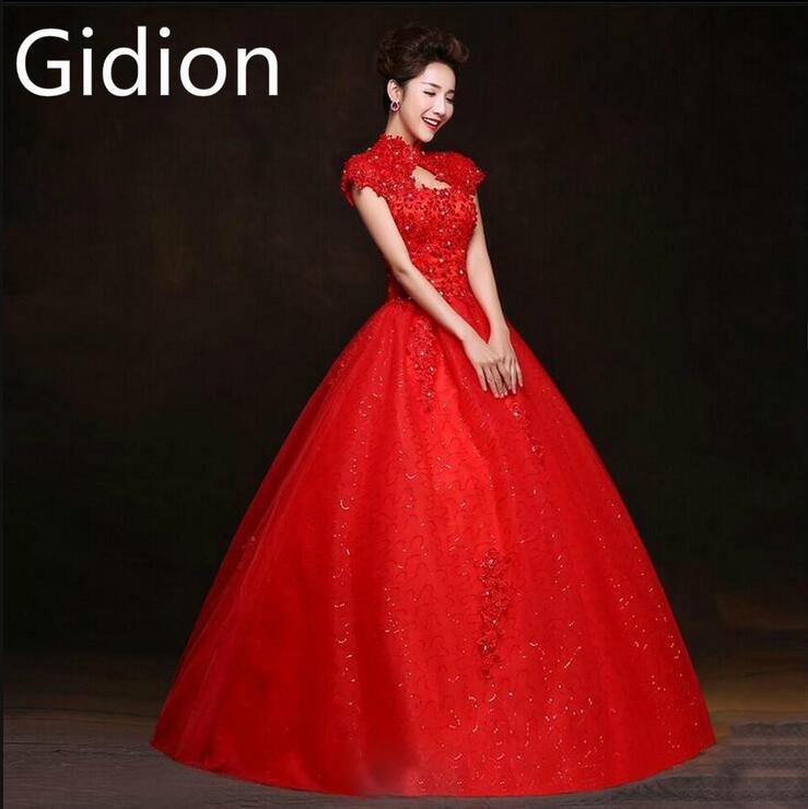 Vestidos De Novia Ball Gown Lace Wedding Dress Cap Sleeve