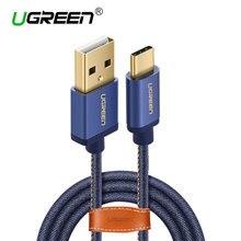 Ugreen usb type c кабель зарядное устройство кабель типа с usb зарядное устройство кабель для xiaomi mi 4c mi5 4S oneplus 2 nexus 5 5×6 P meizu usb C