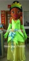 High quality frog princess mascot costumes Adult Size frog princess mascot costumes free shipping