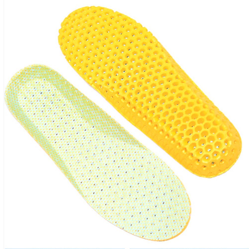 1Pair High quality Stretch Breathable Orthotic Arch Support Shoe Pad Sport Running Active Insoles Insert Cushion Z50101