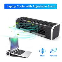 Laptop Tablet Phone Power Cooler External USB Cooling Fan with Adjustable Stand