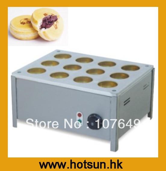 Hot Sale 12pcs 220v Electric Bean Waffle Baker hot sale 32pcs gas bean waffle maker