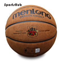 Фотография Size7 Genuine Leather Indoor & Outdoor Anti-slip Sports Basketball Ball Anti-friction Basketball 2-Colors