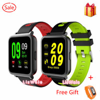 MTK2502 Smart Watch Bluetooth Sport Watch Heart Rate Clock Remote Camera Music For IOS Android Phone