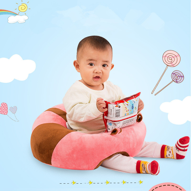 Baby Support Seat Soft Baby Sofa Infant Learning To Sit Chair Keep Sitting Posture Mama Sandalyesi Inflatable Chair Puff Asiento pvc baby sofa inflatable kids training seat bath dining chair