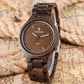 2017 Original Broche Plegable Completa Relojes De Madera Reloj De Madera de Alta Calidad de Bambú de Los Hombres Deportes Reloj de Cuarzo-reloj Hecho A Mano Creativo regalo