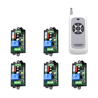 AC220V 1 CH 1CH RF Wireless Remote Control Switch System 315 433 MHZ 1 Transmitter And