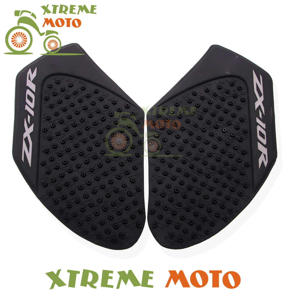 Motorcycle Gas Tank Pads For Kawasaki Zx-10r 2011 2012 2013 2014 15 16 2017 Knee Grip Protector Protective Fuel Sticker Side Pad Automobiles & Motorcycles