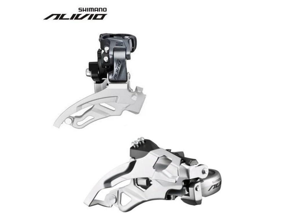 Sports & Entertainment Alert Shimano Alivio Fd M4000 3x9s 27s Speed Front Derailleurs Mtb Bike Mountain Bicycle Parts Quell Summer Thirst