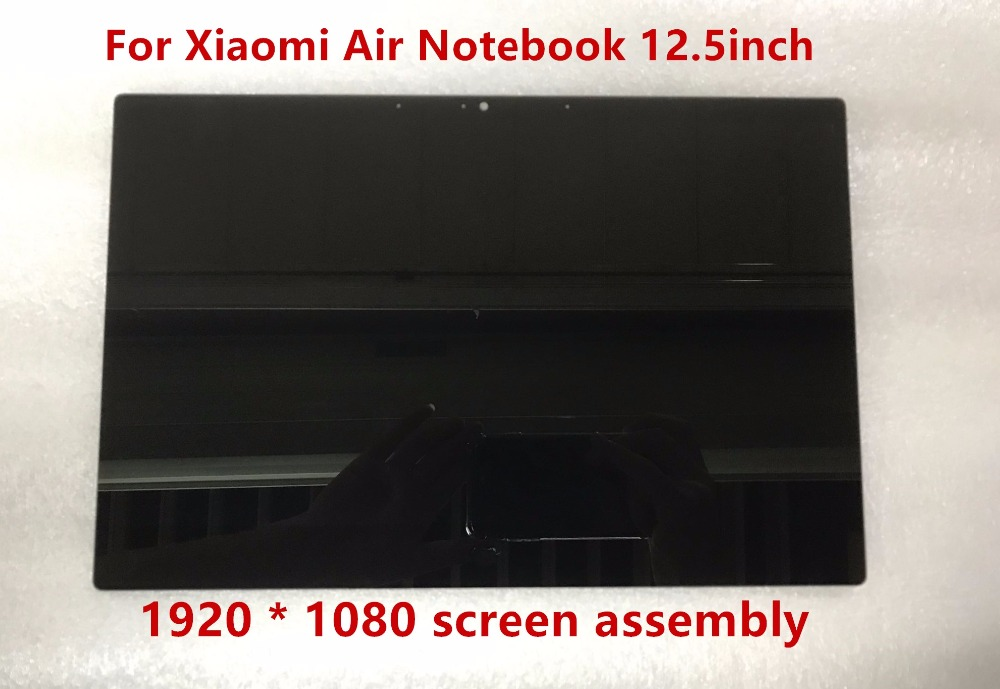 12.5 inch For Xiaomi Air Notebook LCD LED Screen Display Matrix Glass Assembly 1920 X 1080 Resolution NV125FHM-N82 30 pins IPS n101l6 l02 10 1 inch notebook lcd screen