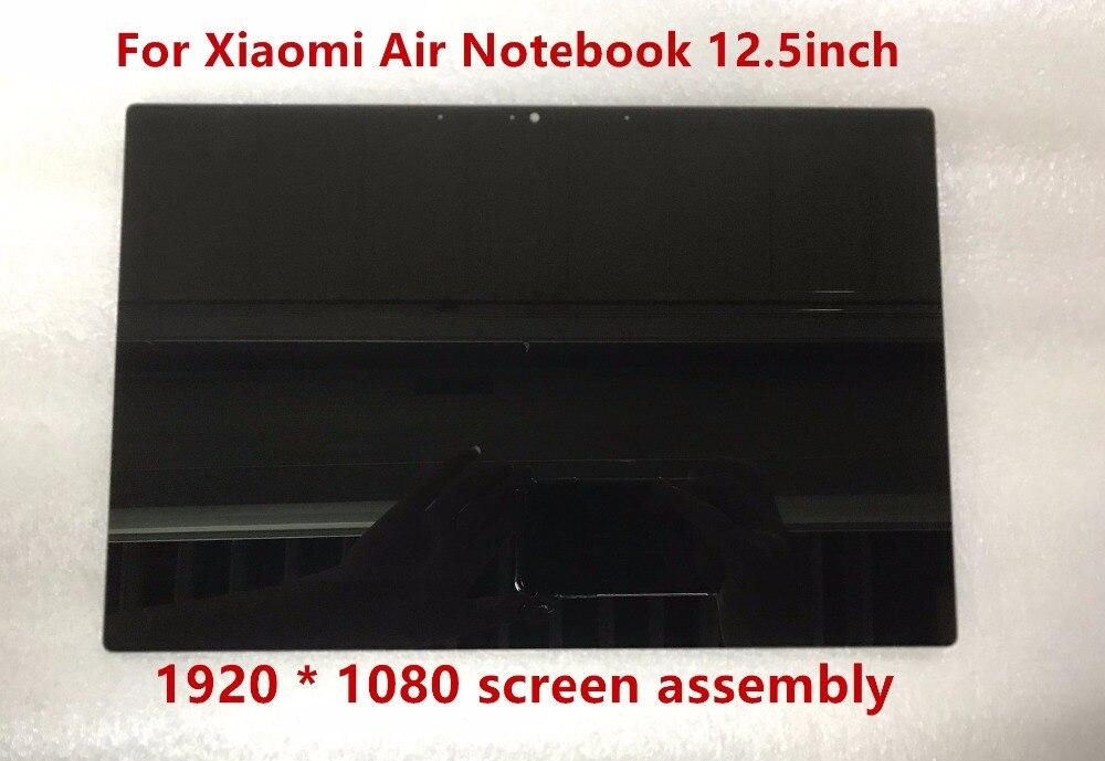 12.5 pouce Pour Xiaomi Air Notebook LCD LED Assemblée D'affichage de L'écran 1920X1080 Résolution NV125FHM-N82 B125HAN02.2 30 pins IPS
