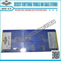 10pcs APKT11T308-PM YBG205 APKT 11T308 PM PVD ZCC. CT gecementeerde carbide frezen insert Positieve insert