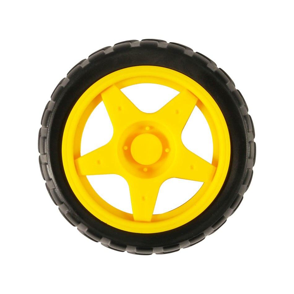 Tt двигатель колеса умный автомобиль шасси робот дистанционное управление автомобильные колеса для Arduino Diy Kit