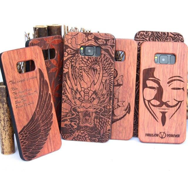 samsung s8 phone case wooden
