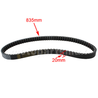 FREE SHIPPING Gates 835 20 Belt For 150cc Scooters ATVs Go Karts