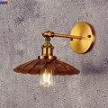 IWHD медный винтажный настенный светильник для спальни  железный антикварный Лофт  промышленный светодиодный настенный светильник Edison Arm  бр...