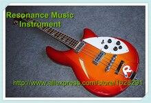 Heißer Verkauf CS Farbe 2 Pickups Rickedbacker/Ricken 4 Saiten E-bass aus China Gitarrenfabrik
