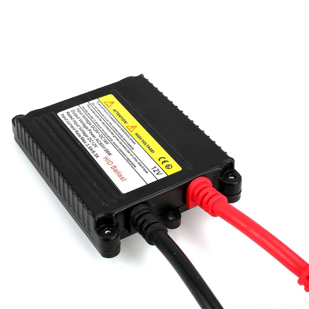 HID 12 V 35 W DC комплект ксеноновых фар, Высокопрочная конструкция цифровая система зажигания с добавочным сопротивлением модульный блок Мода Универсальный Автомобильный фар преобразования лампы H1 H4 H7 H13