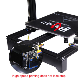 Image 4 - BIGTREETECH S42A 42 מנוע צעד סגור לולאה שלט נהג OLED 3D מדפסת חלקי Reprap tmc2130 SKR v1.3 לוח
