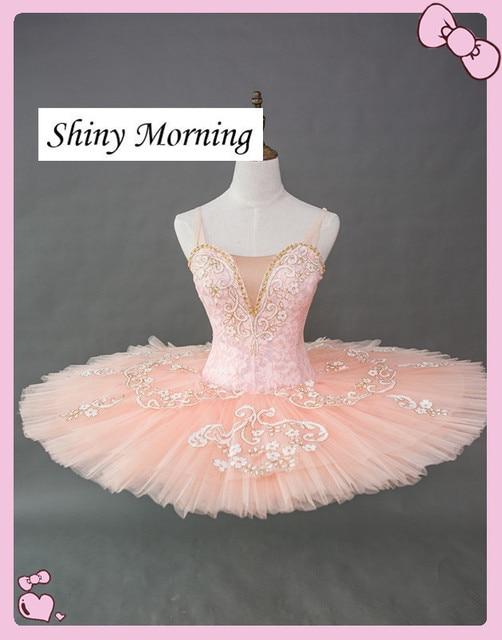 720fe140db11 Pancake Tutu Ballet Professional Kids Classic Tutu Ballet Costume Blue  Adult Platter Ballet Tutus light pink