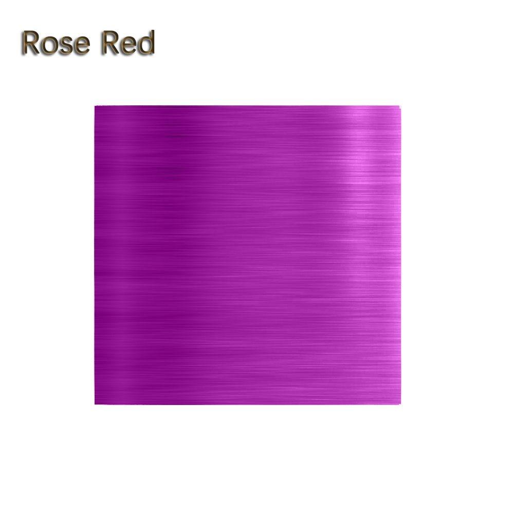 """100 шт./компл. 3,1"""" x 3,15"""" Мути-цвет 8011 еда алюминиевая фольга DIY шоколадные конфеты пакет бумаги 10 цветов - Цвет: Rose"""