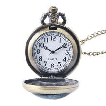 New Arrive Steampunk Design Fairy Tail Pocket Watch Quartz Watches Men Cartoon Pendant Gift