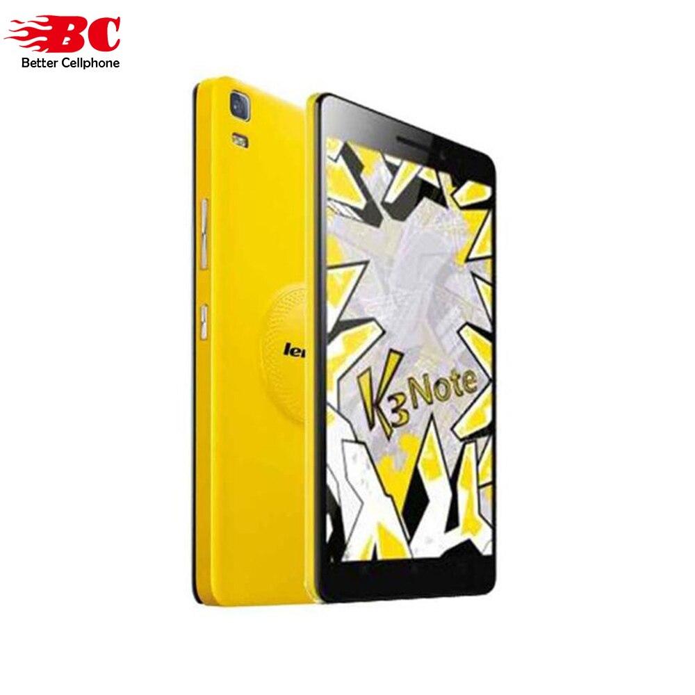 Original Lenovo K3 Note K50-T5 Android 5.0 Mobile Phone MTK6752 Octa Core Dual SIM 4G LTE 5.5inch 2G RAM 16G ROM 13MP SmartPhone