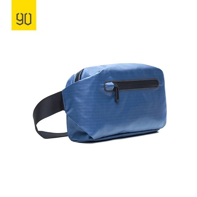 50196ab322 Xiaomi Ecosystem 90FUN Stylish Urban Leisure Fanny Pack Waist Bag Chest Bag  Women Men Black Orange Blue Casual Style