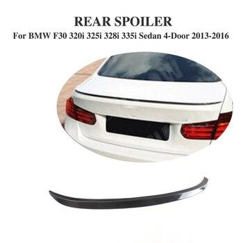 Углеродное волокно задний багажник спойлер крыло для BMW 3 серии F30 320i 325i 328i 335i седан 4-дверь 2013-2016 >> JCING Official Store