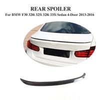 Carbon Fiber Kofferbak Boot Lip Spoiler Wing Voor BMW 3 Serie F30 320i 325i 328i 335i Sedan 4- deur 2013-2016