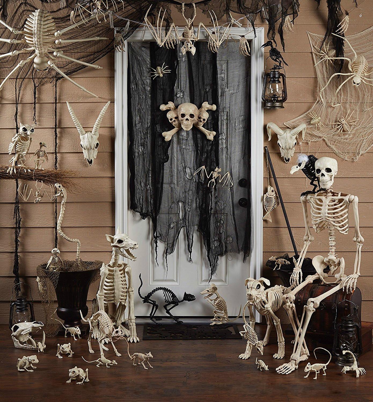 Happy Halloween Tips On Home Decoration 1: Fantasy Bone Skeleton Animal 100% Plastic Animal Skeleton