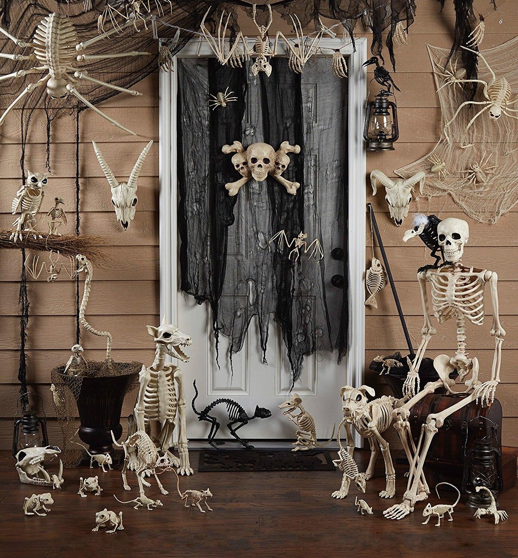 fantasy bone skeleton animal 100 plastic animal skeleton bones for horror halloween decorationchina