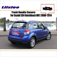 Liislee Car Camera For Suzuki SX4 Hatchback 2006~2014 / Rear View Camera / HD CCD RCA NTST PAL / Trunk Handle OEM