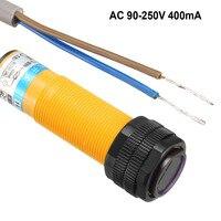 Фотоэлектрический переключатель Uxcell 300/400mA инфракрасный луч диффузное отражение оптический датчик переключатели NC/NO AC 90-250 В или DC 6-36 в 1 шт.