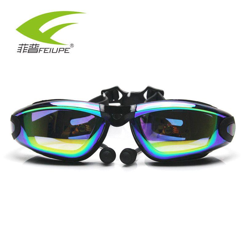 71c54af87806 Gafas de agua con prescripción de miopía FEIUPE Anti-UV para natación,  gafas Anti-UV, dióptero de ...