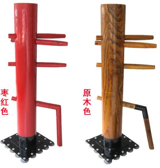 update 16 suckers stand column Wing Chun ELM Wooden Dummy, professional kung fu training mook jong, Ip Man Chinese martial arts