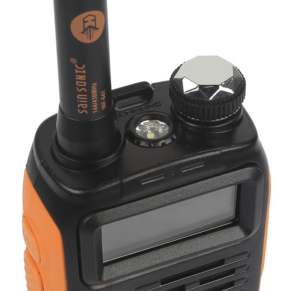 2 PCS 3800mAh Battery Baofeng GT-3TP Mark III 8W Dual Band V/UHF Ham Two-way Radio Walkie Talkie
