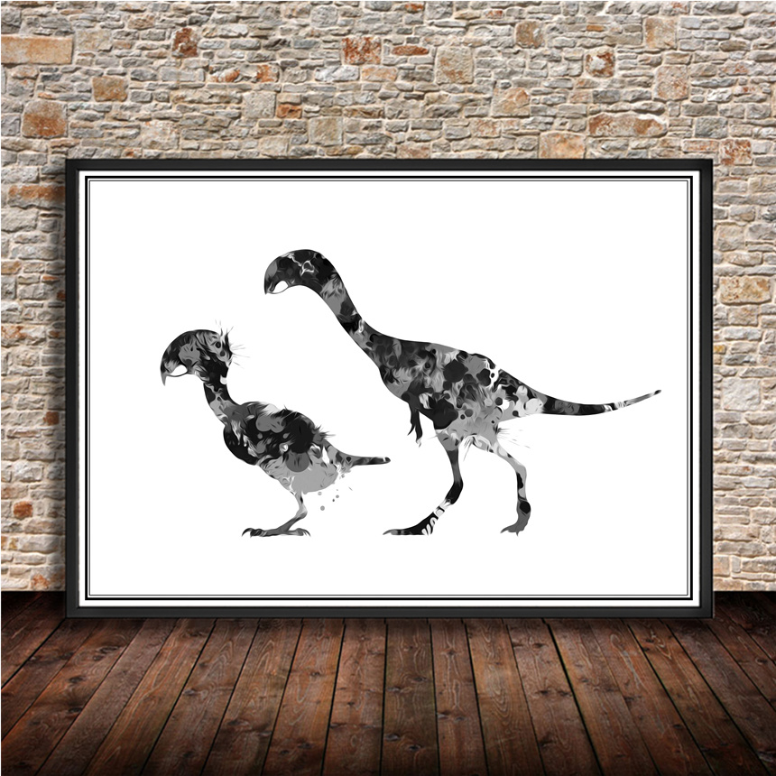 Hot sale Animal postersquirrelKraft paper wall sticker vintage retro poster print painting for cafe bar pub home decoration