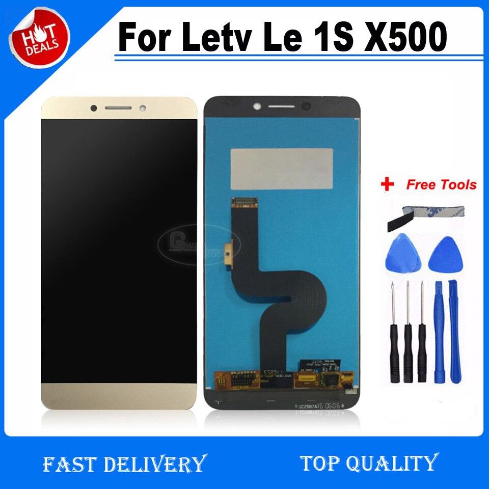 """imágenes para Para 5.5 """"Letv Le 1 S X500 Pantalla LCD + Pantalla Táctil + Pantalla LCD de Alta Calidad Para Le Letv 1 S X500 Smartphone"""