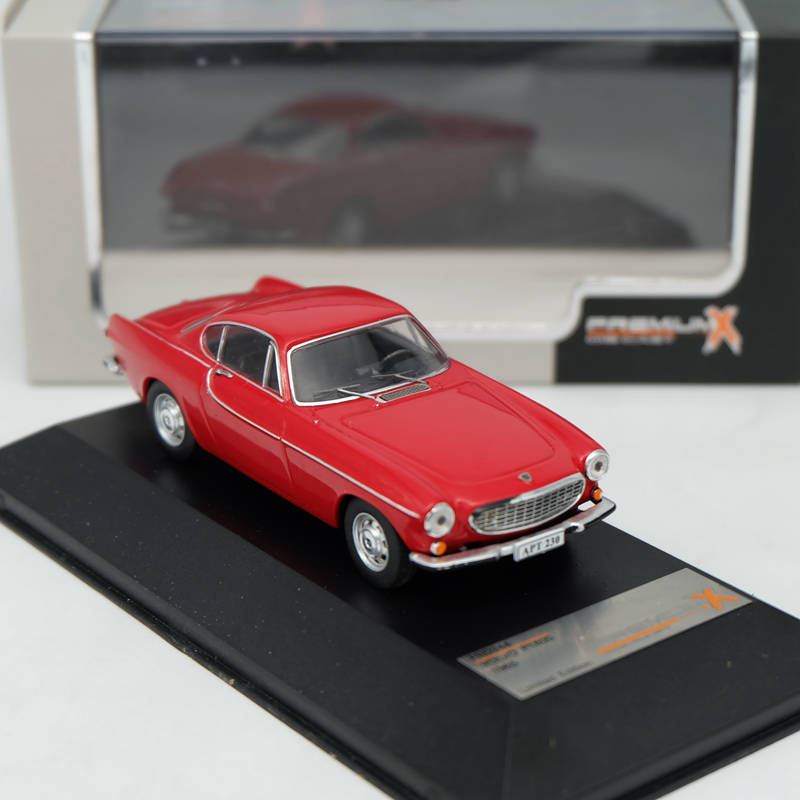 Premium X 1:43 Volvo P1800 1965 Red PRD244 Resin Car Toys Models Limited Edition Auto Collection ixo premium x 1 43 stutz blackhawk coupe 1971 red prd002 limited edition collection resin auto models