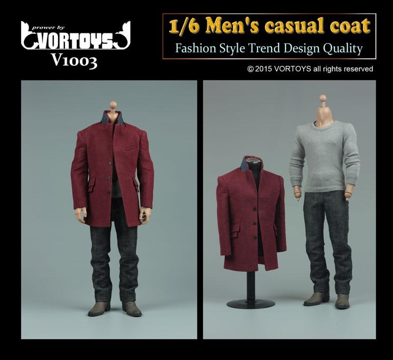 ФОТО 1/6  VORTOYS V1003 Men's Casual Coat