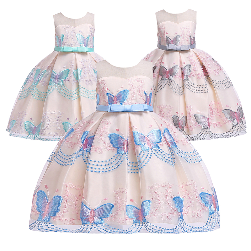 Fashion Embroidery Wedding Bridesmaid Dresses for Kids Girls Party Birthday Pageant Ball Gown Dress for Photo Shoot Girls DressFashion Embroidery Wedding Bridesmaid Dresses for Kids Girls Party Birthday Pageant Ball Gown Dress for Photo Shoot Girls Dress