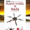 Original F550 Hexacopter/Quadcopter con ESC Motor Propulsor y NAZA Lite GPS ARF MultiCopter Kit Combo