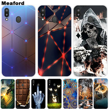 US $0.99 21% OFF|For Samsung Galaxy M20 Case Phone Cover Soft Silicone Printing Back Case Coque For Samsung M20 6.3 inch Galaxy M 20 Fundas Cover-in Fitted Cases from Cellphones & Telecommunications on Aliexpress.com | Alibaba Group