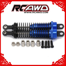 Oil Adjustable 80mm Alloy Aluminum Shock Absorber Damper For Rc Car 1/16 Buggy Truck Hpi Hsp Traxxas Losi Axial Tamiya Redcat цена